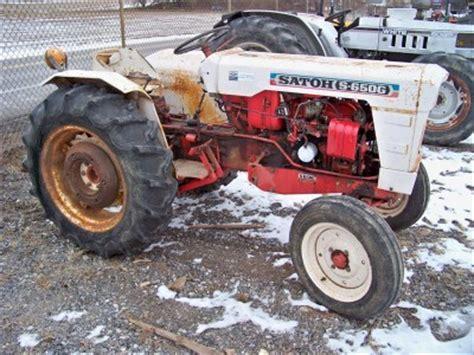 satoh s650g mitsubishi compact tractor fixup or parts ebay