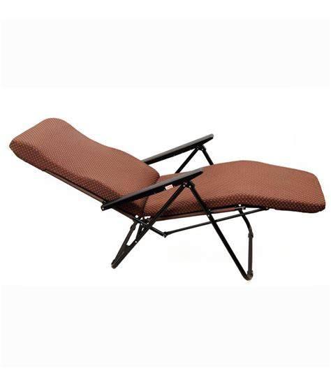 portable recliner recliner chair in brown buy online at best price in india
