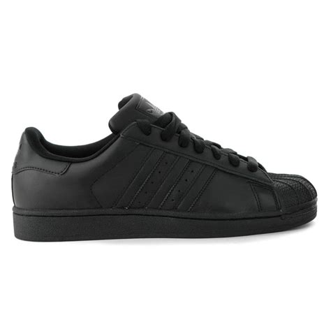 adidas leather shoes adidas superstar 2 0 ii all black leather classic