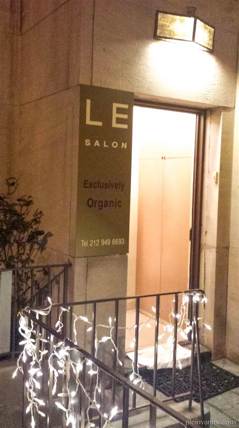 Vanity Hair Studio Nyc by Squeaky Clean And Green Le Salon Nyc Organic Salon Review Plein Vanity