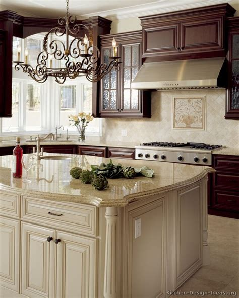kitchen cabinets with island pictures of kitchens traditional white antique