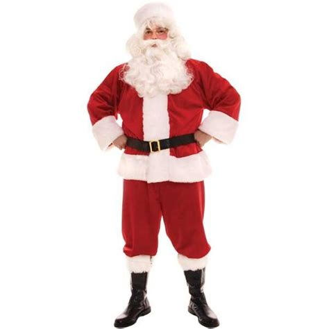 adult traditional santa claus costume costumeish cheap