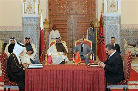 General Chair by Hm King Mohammed Vi And Emir Of The State Of Qatar Hh