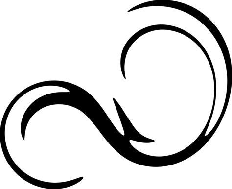 Swirl Black clipart swirl 2