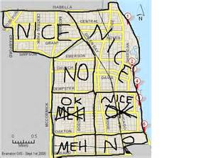 Bad Parts Of Chicago Map bad neighborhoods in chicago map