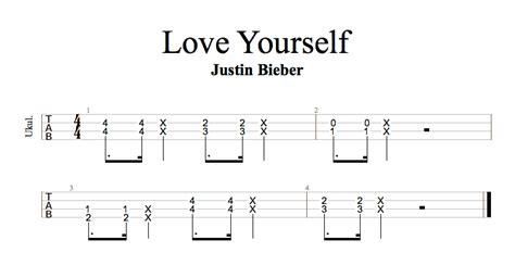 guitar tutorial video love yourself guitar guitar tabs love yourself guitar tabs in guitar