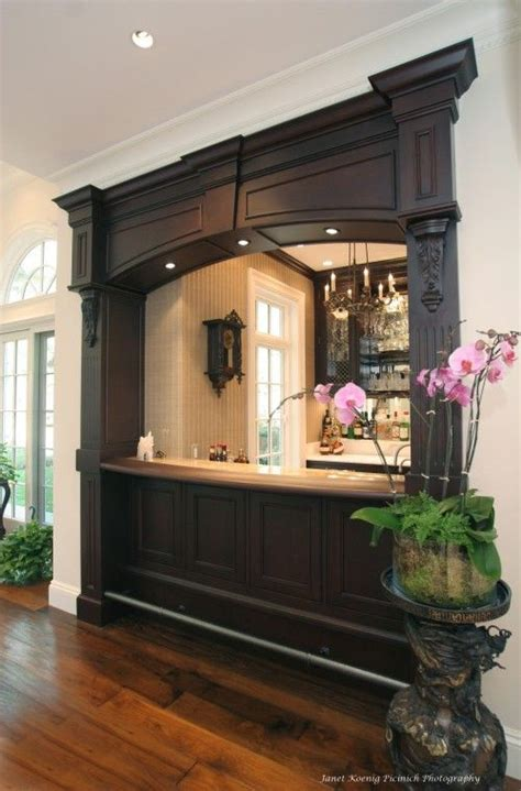 attractive bar for living room this one s on the houzz a tour of home bars beautiful