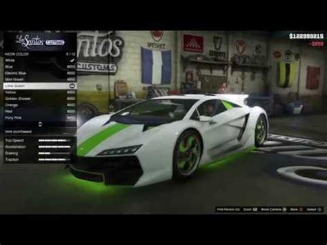 How To Spawn A Lamborghini In Gta 5 Gta V Zentorno Lamborghini Spawn Location And