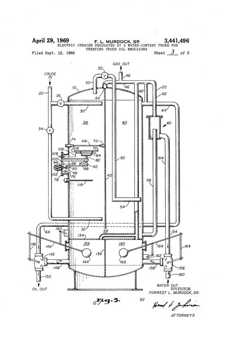heater treater diagram horizontal and gas separator diagram water