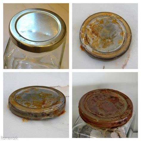 How To Make Paper Look With Vinegar - make new jar lids look easy rusting process soak the