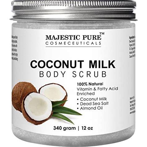 Scrub Milk Coconut majestic coconut milk scrub anti cellulite