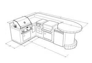 Outdoor Kitchen Ice Chest - outdoor kitchen designs idea s las vegas outdoor kitchen designs