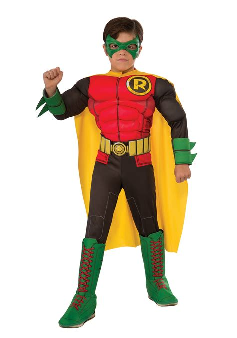 robin costume dc comics deluxe child robin costume