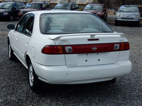 1999 Nissan Sentra Mpg by Used 1999 Nissan Sentra Gxe For Sale In Asheville