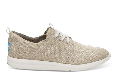 shoes for womens metallic linen s sneakers toms 174