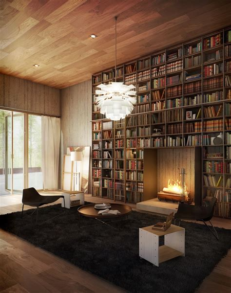 home libraries library inspiration