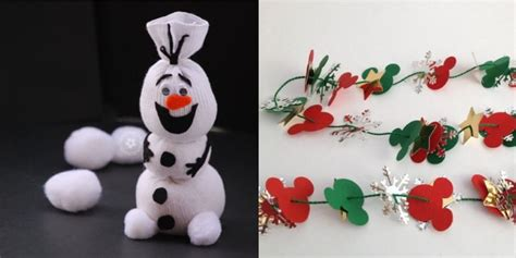 10 fun disney christmas crafts for kids inspired by dis