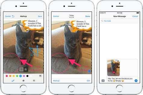 cara edit foto iphone cara mengedit mengelola liran dalam pesan di iphone