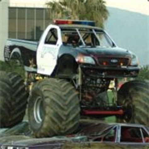 general discussions monster truck police force