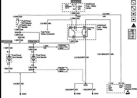 fuel pump relay wiring diagram agnitum   chevy