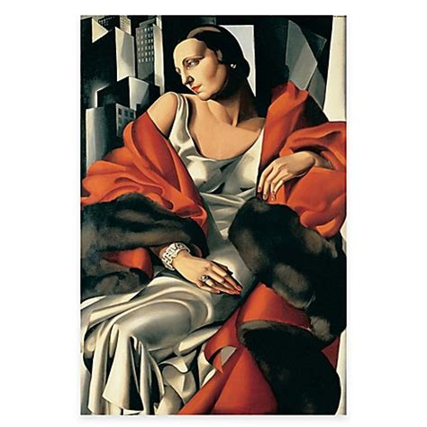 tamara de lempicka art tamara de lempicka madame boucard canvas wall art bed