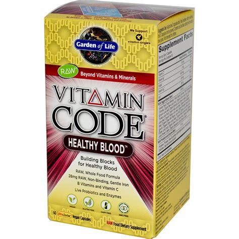 Garden Of Vitamin Code For by Garden Of Vitamin Code Healthy Blood 60 Vegan Caps