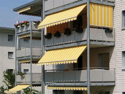 tende da sole e pioggia per balconi balcone a loggia ripartizione spese