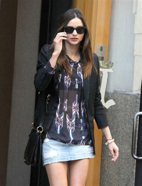 Blazer Miranda Kerr miranda kerr blazer miranda kerr clothes looks stylebistro