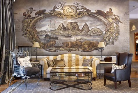 Paint By Number Wall Mural the cape grace hotel african sketchbook fine art fabrics