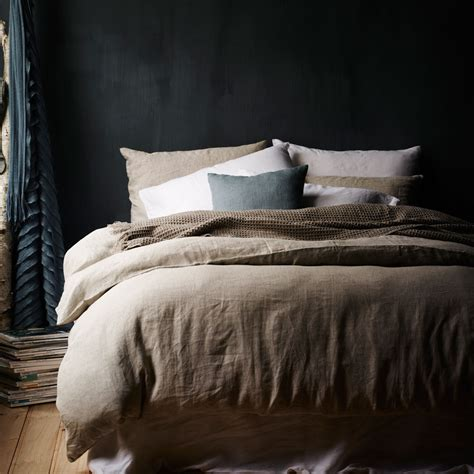 washed linen bedding bedding home republic vintage washed bed linen at adairs