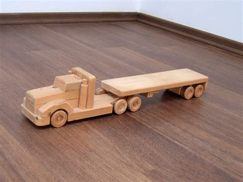 wooden truck toy flavia the flat bed wood truck a waldorf wooden toy truck