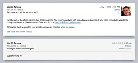 Auto Reply by How To Create Out Of Office Auto Email Replies With Os X