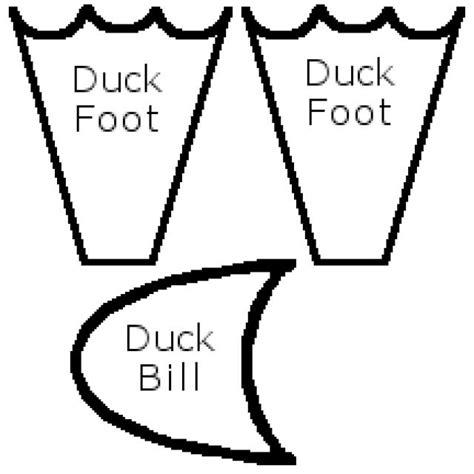 duck bill pattern     paper