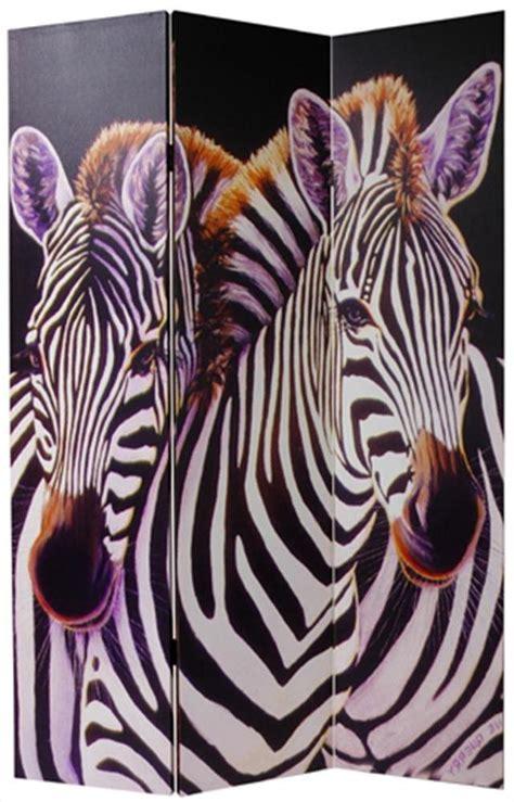 Zebra Room Divider Memories Sided Photo Frame Room Divider