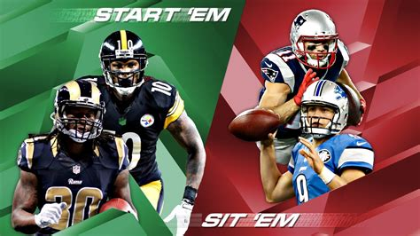 sit or bench fantasy football sit or bench fantasy football 28 images week 7 start