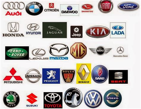european car logos and names list cars upg car logo