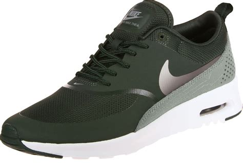 nike air max thea  shoes olive green