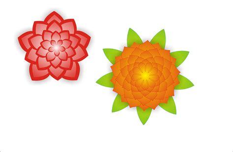 design bunga corel membuat bunga dengan coreldraw