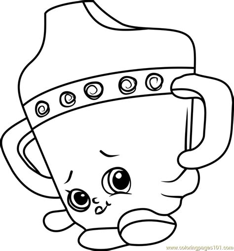 coloring pages of baby shopkins sippy sips shopkins coloring page free shopkins coloring