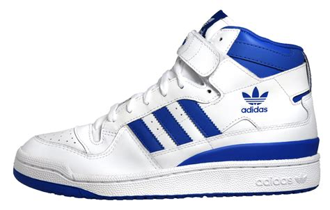 adidas originals forum mid mens basketball shoes casual court trainers white ebay