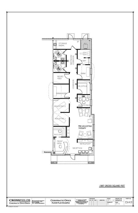 chiropractic office floor plan chiropractic office condo suite floorplan with