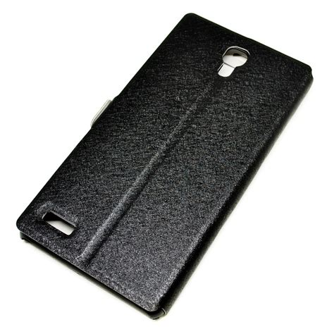 Taff Leather Flip For Redmi Note 2 Sarung Hp Pelindung Dompet taff leather large flip window for xiaomi redmi note black jakartanotebook