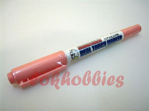 Gundam Marker Realtouch Pink Gm 410 gsi creos mr hobby gunpla gundam marker pen liner normal brush type real touch ebay