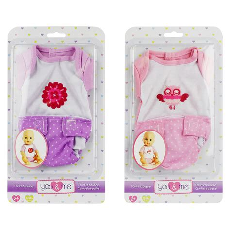 you and me baby doll tshirt set assorted toys