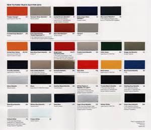ford paint colors 2014 ford escape colors auto parts diagrams