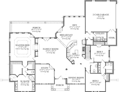 3 feet plan european style house plan 3 beds 3 50 baths 3000 sq ft