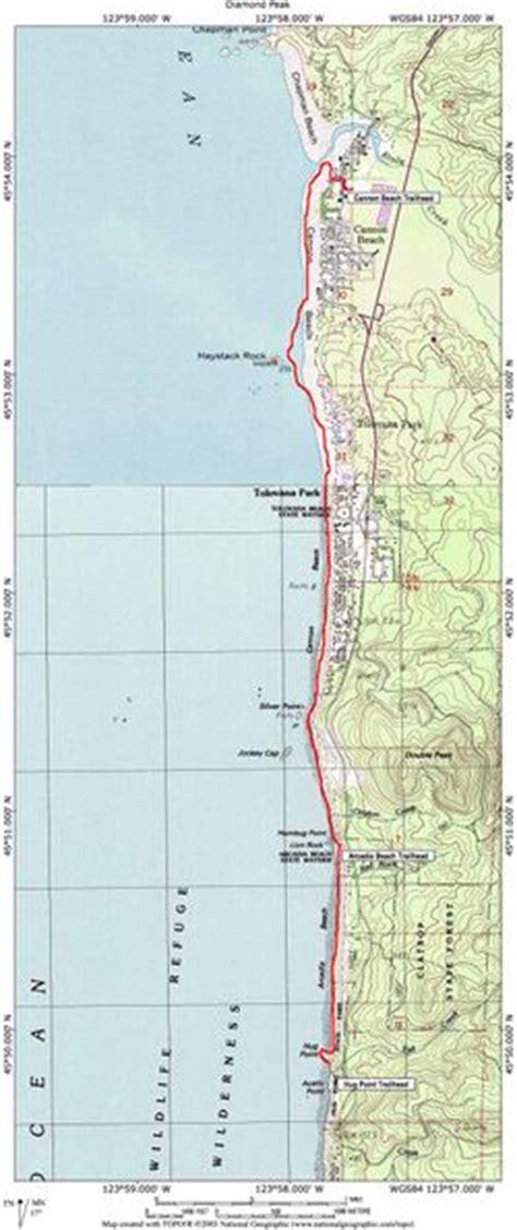 map of cannon oregon cannon hike hiking in portland oregon and washington