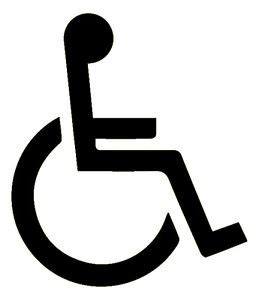 Stiker Reflective 3m Scotchlite 3m disabled logo 3m scotchlite reflective sticker decal