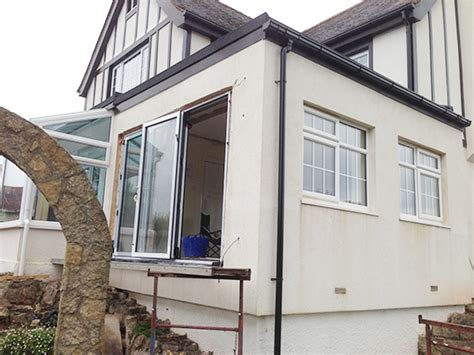 Patio Door Fitting Structural Wall Opening Torquay Kb Construction