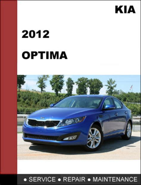 kia optima 2012 factory service repair manual download download m